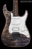. Suhr Pro S3 Guitar - Swamp Ash - Trans Blue Denim Slate