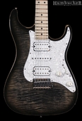 . Suhr Pro S4 Guitar - Swamp Ash - Charcoal Burst