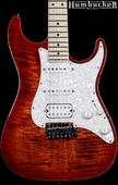 Suhr Pro S4 Guitar - Swamp Ash - Copperhead Burst