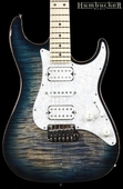 Suhr Pro S4 Guitar - Swamp Ash - Faded Trans Whale Blue