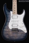 . Suhr Pro S4 Guitar - Swamp Ash - Faded Trans Whale Blue