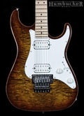 Suhr Standard Pro S6 Guitar - Bengal Burst - Stainless Frets