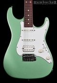 Suhr Pro S1 Guitar - Cactus Green Metallic - SS Frets