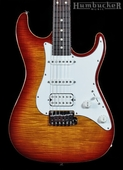 Suhr Pro S3 Guitar - Aged Cherry - Stainless Steel