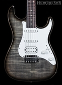 Suhr Pro S3 Guitar - Charcoal Burst - Stainless Steel