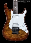 Suhr Pro S5 Guitar - Bengal Burst - Stainless Steel