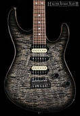 Suhr Signature Guthrie Govan Guitar in Charcoal Burst