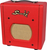 Swart Space Tone Atomic Jrin Custom Red