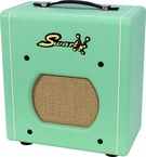 Swart Space Tone Atomic Jr. in Custom Surf Green