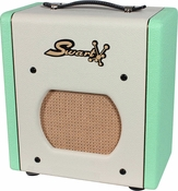 Swart Space Tone Atomic Jr. in Custom Surf Green / Ivory