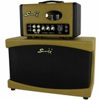 Swart Space Tone Stereo Head & Cab - Unique Tweed!