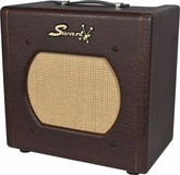 Swart STR-Tremolo Amp in Custom Brown Ostrich