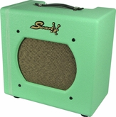 Swart STR-Tweed in Custom Surf Green