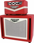 The Jackson Ampworks Britain 30 Head & Cab - Red