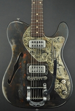 Trussart Deluxe Steelcaster Guitar - Rust-O-Cream Paisley