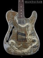 Trussart Deluxe Steelcaster Rusty Dragon