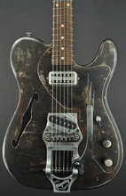 Trussart Deluxe Steelcaster w/ Bigsby in Dark Rust-O-Matic