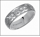 11-2128C Triton Tungsten Carbide Celtic Wedding Ring