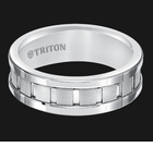 11-5245HC Triton Tungsten Carbide Wedding Ring