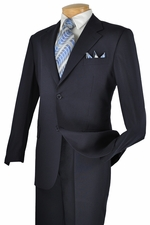 2 Piece 2 Button Solid Men's Suit (S1254)