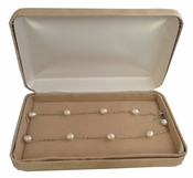 Beautiful Freshwater Israeli Pearl Strand Necklace J1002