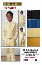 Boy's Church Suit (B1487)
