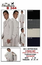 Boy's Fabulous Church Suit, Special Occasion Suit (B344)