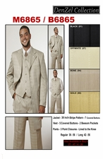 Designer Men's And Boy's Suit (M6865 / B6865)