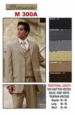 Designer Men's Suit , Men's Business Suit (M300A)