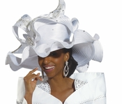 Donna Vinci First Lady Special Occasion Church Hat H1499