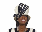 Donna Vinci High Fashion Ladies Church Hat H2171