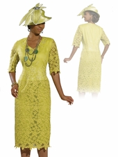 Donna Vinci Lovely Womens Church Outfit 11299