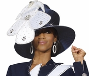 Donna Vinci Stylish Womens Church Hat H2153