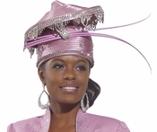 Donna Vinci Unique High Fashion Church Hat H1474