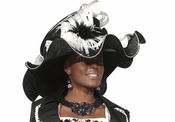 Donna Vinci Womens Fashionista Large Church Hat H1443