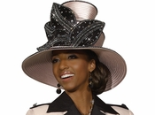 Elegant Top Selling Ladies Church Hat in Rose Color by Donna Vinci Knits H2150