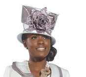 Feather Me With Love Church Hat by Donna Vinci H2162