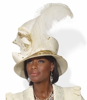Festive and Classy Womans Special Occasion Hat H1493