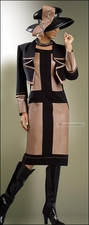 High Fashion 2 Piece Jacket and Dress from Donna Vinci 5396