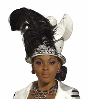 High Fashion Fashionista Ladies Church Hat H1485