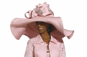 High Quality Donna Vinci High Fashion Ladies Church Hat H1503