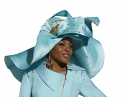 High Quality Exclusive Special Occasion Donna Vinci Hat H1502