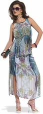 Ladies Fashionable Printed 2 Piece Set from Love The Queen 17134