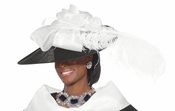 Ladies Special Occasion High Fashion Hat H1488
