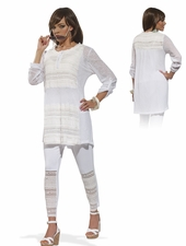 Love The Queen Knitted Tunic and Legging Set 17120