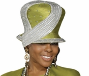 Lovely Ladies Fashion Church Hat by Donna Vinci H2161