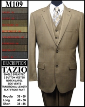 Men's 2 Button Designer Suit (M109)