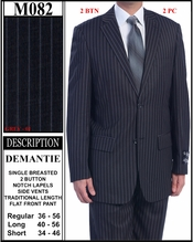 Men's 3 Button Dress Suit (M082)