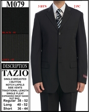 Men's 3 Button Suit (M079)