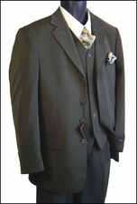 Men's 3 Piece Business Suit (P1101)